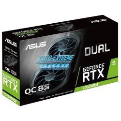 Видеокарта ASUS DUAL GeForce RTX 2060 SUPER 1470MHz PCI-E 3.0 8192MB 14000MHz 256 bit DVI DisplayPort 2xHDMI HDCP EVO V2 OC
