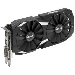 Видеокарта ASUS GeForce GTX 1050 Ti 1341Mhz PCI-E 3.0 4096Mb 7008Mhz 128 bit 2xDVI HDMI HDCP DC2 OC