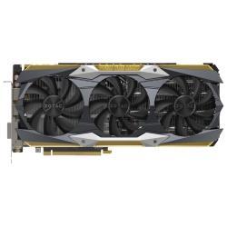 Видеокарта ZOTAC GeForce GTX 1080 Ti 1607Mhz PCI-E 3.0 11264Mb 11200Mhz 352 bit DVI HDMI HDCP AMP Extreme Core Edition