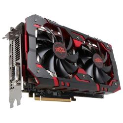 Видеокарта PowerColor Radeon RX 580 1425Mhz PCI-E 3.0 8192Mb 8000Mhz 256 bit DVI HDMI HDCP Red Devil Golden Sample