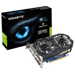Видеокарта GIGABYTE GeForce GTX 750 Ti 1033Mhz PCI-E 3.0 2048Mb 5400Mhz 128 bit 2xDVI 2xHDMI HDCP