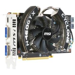 Видеокарта MSI GeForce GTX 460 725Mhz PCI-E 2.0 768Mb 3600Mhz 192 bit 2xDVI Mini-HDMI HDCP Cyclone