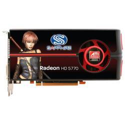Видеокарта Sapphire Radeon HD 5770 850Mhz PCI-E 2.1 1024Mb 4800Mhz 128 bit 2xDVI HDMI HDCP