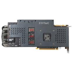 Видеокарта ZOTAC GeForce GTX 980 1291Mhz PCI-E 3.0 4096Mb 7200Mhz 256 bit DVI HDMI HDCP