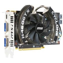 Видеокарта MSI GeForce GTX 460 725Mhz PCI-E 2.0 1024Mb 3600Mhz 256 bit 2xDVI Mini-HDMI HDCP Cyclone