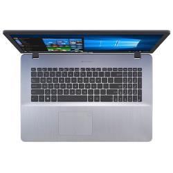 "Ноутбук ASUS VivoBook 17 X705 (Intel Celeron N4100 1100MHz / 17.3"" / 1600x900 / 4GB / 256GB SSD / DVD нет / Intel UHD Graphics 600 / Wi-Fi / Bluetooth / Windows 10 Home)"