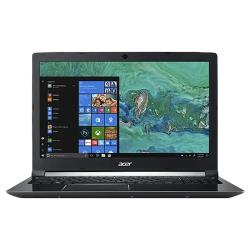 "Ноутбук Acer ASPIRE 7 A715-72G-77C6 (Intel Core i7 8750H 2200MHz / 15.6"" / 1920x1080 / 8GB / 1000GB HDD / DVD нет / NVIDIA GeForce GTX 1050 Ti 4GB / Wi-Fi / Bluetooth / Windows 10 Home)"