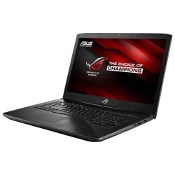 "Ноутбук ASUS ROG GL703 (Intel Core i7 7700HQ 2800MHz / 17.3"" / 1920x1080 / 8GB / 256GB SSD / 1000GB HDD / DVD нет / NVIDIA GeForce GTX 1050 4GB / Wi-Fi / Bluetooth / Windows 10 Home)"