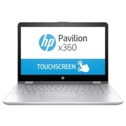 "Ноутбук HP PAVILION 14-ba105ur x360 (Intel Core i7 8550U 1800 MHz/14""/1920x1080/8Gb/1128Gb HDD+SSD/DVD нет/NVIDIA GeForce 940MX/Wi-Fi/Bluetooth/Windows 10 Home)"
