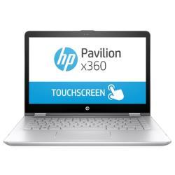 "Ноутбук HP PAVILION 14-ba105ur x360 (Intel Core i7 8550U 1800 MHz / 14"" / 1920x1080 / 8Gb / 1128Gb HDD+SSD / DVD нет / NVIDIA GeForce 940MX / Wi-Fi / Bluetooth / Windows 10 Home)"