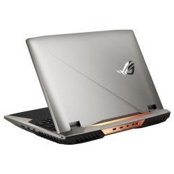 "Ноутбук ASUS ROG G703 (Intel Core i7 7700HQ 2800MHz / 17.3"" / 1920x1080 / 16GB / 256GB SSD / 1000GB HDD / DVD нет / NVIDIA GeForce GTX 1080 8GB / Wi-Fi / Bluetooth / Windows 10 Home)"