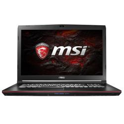 "Ноутбук MSI GP72 7RD Leopard (Intel Core i5 7300HQ 2500 MHz / 17.3"" / 1920x1080 / 8Gb / 1128Gb HDD+SSD / DVD-RW / NVIDIA GeForce GTX 1050 / Wi-Fi / Bluetooth / Win 10 Home)"