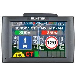 Видеорегистратор с радар-детектором Intego BLASTER 2.0 (Комбо), GPS