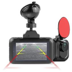 Видеорегистратор с радар-детектором Roadgid Premier 2CH, 2 камеры, GPS, ГЛОНАСС