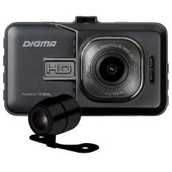 Видеорегистратор DIGMA FreeDrive 118 DUAL, 2 камеры