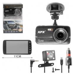 Видеорегистратор XPX P11, 2 камеры