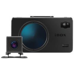 Видеорегистратор с радар-детектором iBOX iCON WiFi Signature Dual + камера заднего вида, 2 камеры, GPS, ГЛОНАСС