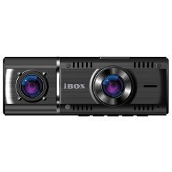 Видеорегистратор iBOX Flip Dual, 2 камеры, черный