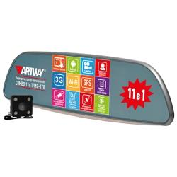Видеорегистратор Artway MD-170 Android 11 в 1, 2 камеры, GPS