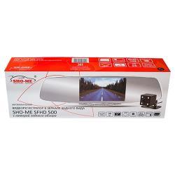 Видеорегистратор SHO-ME SFHD 500, 2 камеры