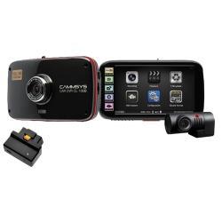 Видеорегистратор BlackSys CL-100B OBDII-2CH-GPS, 2 камеры, GPS, ГЛОНАСС