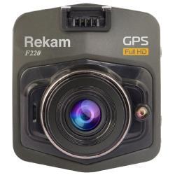 Видеорегистратор Rekam F220, GPS