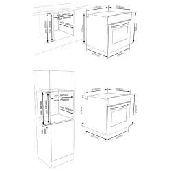 Электрический духовой шкаф Vestfrost VFMT60OBG