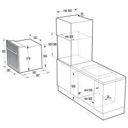 Электрический духовой шкаф Gorenje BO 658-ORAW