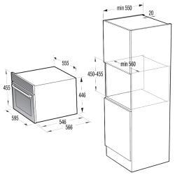 Электрический духовой шкаф Gorenje BCS 547-ORA-W