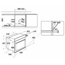 Электрический духовой шкаф Hotpoint-Ariston FI9 891 SH IX HA