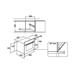 Электрический духовой шкаф Indesit IFW 65Y0 J BL