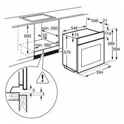 Электрический духовой шкаф Electrolux OPEC 6631 X