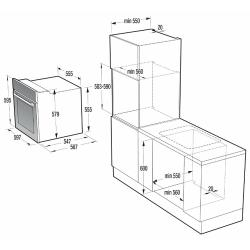 Электрический духовой шкаф Gorenje BO 637 INI