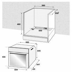 Электрический духовой шкаф Beko BCW 15500 X