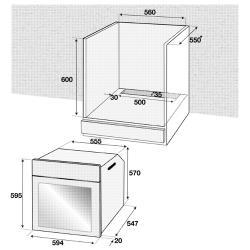 Электрический духовой шкаф Beko BIS 25500 XMS