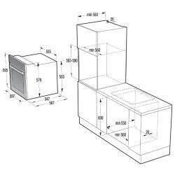 Электрический духовой шкаф Gorenje BO 635E11 BK-2