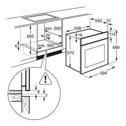Электрический духовой шкаф Electrolux EOB 53434 AX