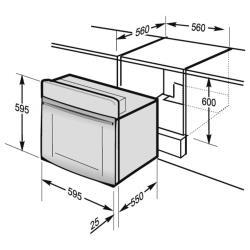Электрический духовой шкаф Hansa BOEI68434