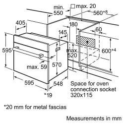 Электрический духовой шкаф Bosch HBN431E3