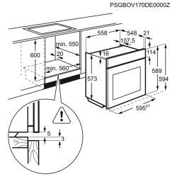 Электрический духовой шкаф Electrolux EOB 93311 AX
