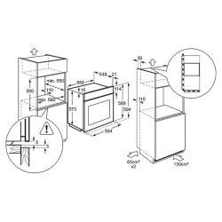 Электрический духовой шкаф Electrolux EOB 96850 AX