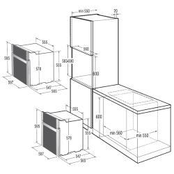 Электрический духовой шкаф Gorenje BO 75 SY2W