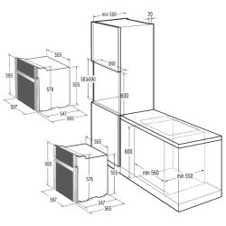 Электрический духовой шкаф Gorenje BO 72 SY2W
