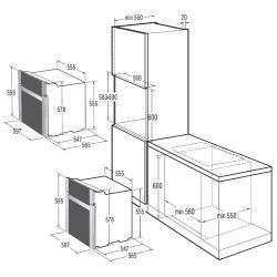 Электрический духовой шкаф Gorenje BO 53 CLB
