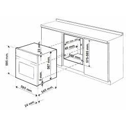 Электрический духовой шкаф Indesit FMR 54 K.A (AN)