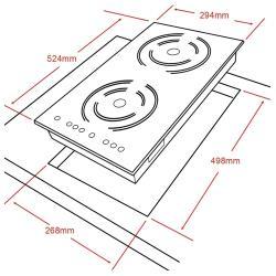 Электрическая плита Ginzzu HCI-241