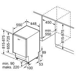 Встраиваемая посудомоечная машина Bosch SPV53M00