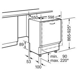Встраиваемая посудомоечная машина NEFF S52M65X4