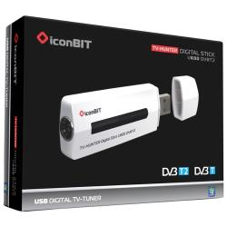 TV-тюнер IconBIT TV-HUNTER Digital Stick U600 DVBT2