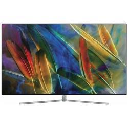 "Телевизор QLED Samsung QE75Q7FAM 74.5"" (2017), серебристый"